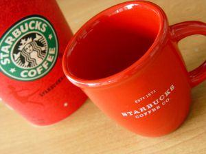 Starbucks: Kalter Kaffee in Tassen...