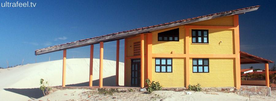 Design house in desert.