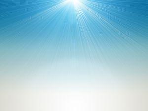 Blue light cascade in the sky. (Pic: Sxc.hu)