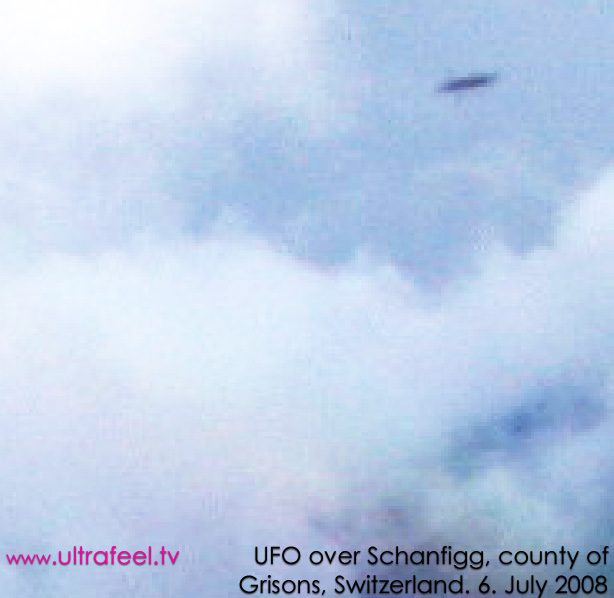 UFO over Schanfigg, Switzerland (c) ultrafeel.tv