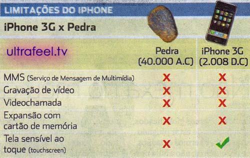 iPhone vs. Stone...