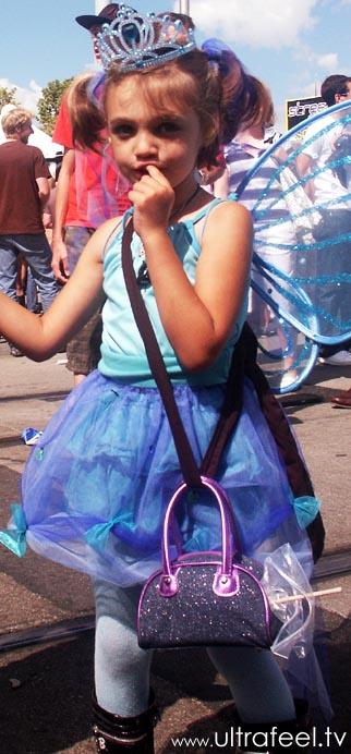 Streetparade 2008 - butterfly girl.