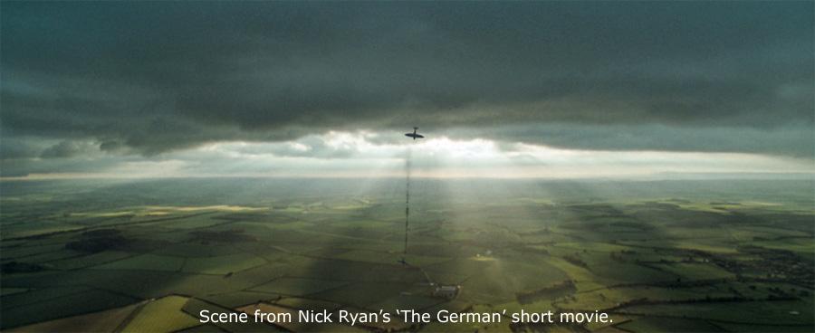 'The German' - Warplane dogfight scene by Nick Ryan.