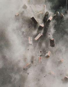 Bricks falling, demolition. (Sxc.hu)