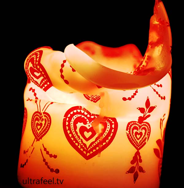 Heart Candle