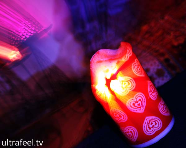 Psychedelic Candle (ultrafeel.tv)