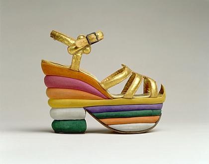 High heels by Ferragamo